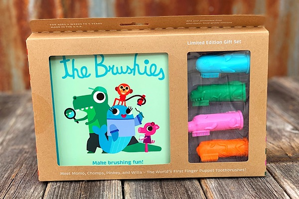 Brushies Book Gift Set,BGS111