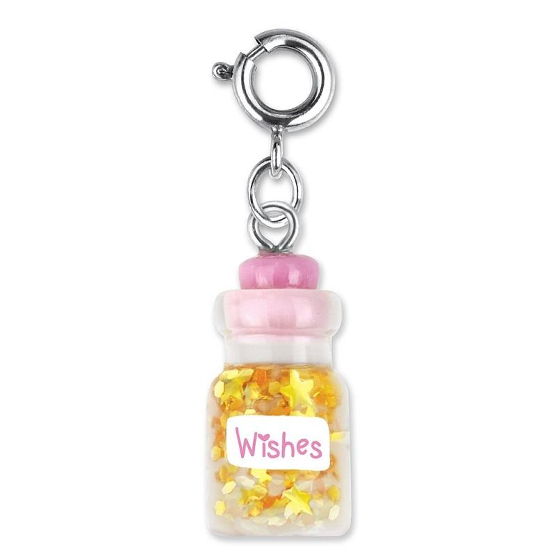 Wishes Bottle Charm,CICC1239