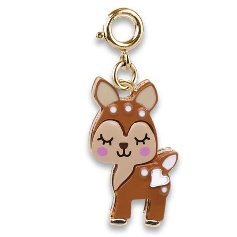 Gold Fawn Charm,GOLDFAWN