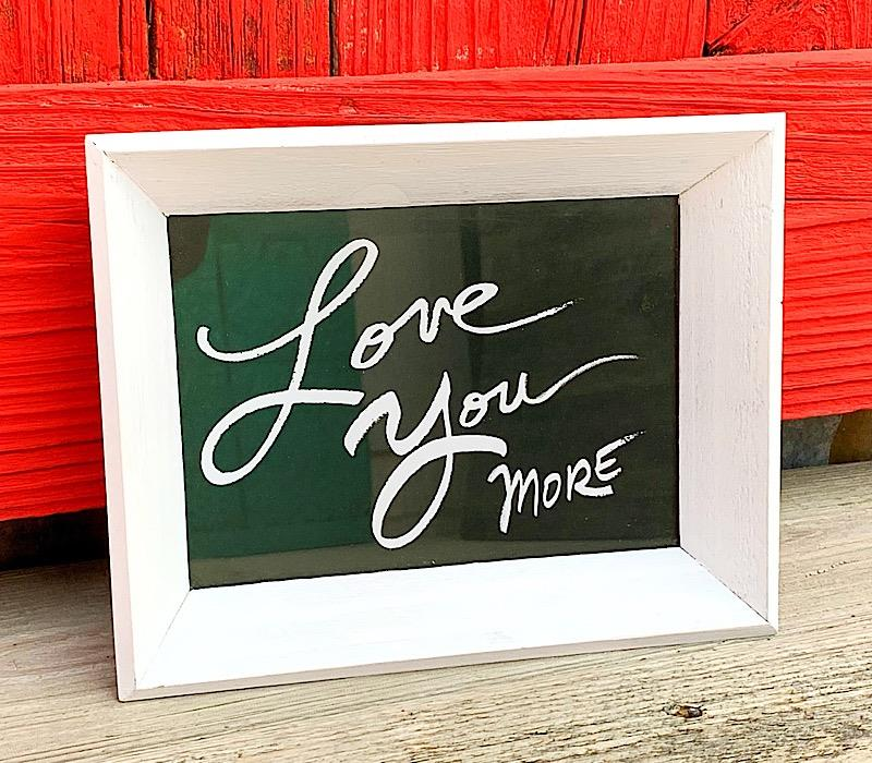 Love You More Tray,ER53076