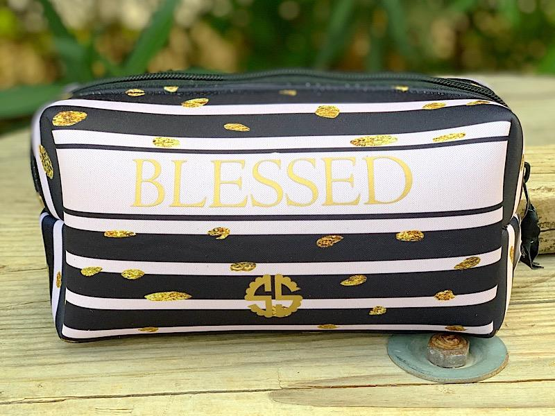 Blessed Neoprene Cosmetic Bag,NEOCOSMO-BLESSED
