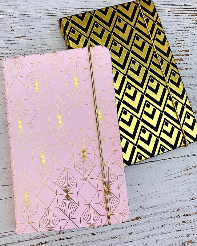Abstract Pocket Journal,1525-PINK