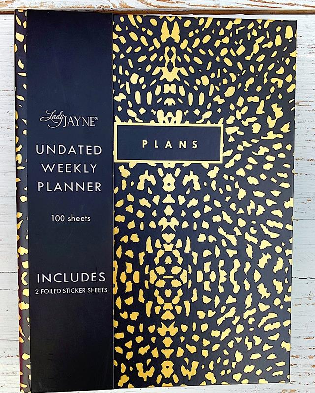 Abstract Animal Undated Planner,10625