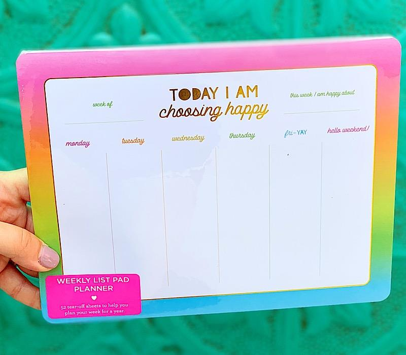 Choosing Happy Planner,LP-05