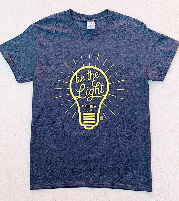Be The Light T-Shirt,THELIGHT-SMALL