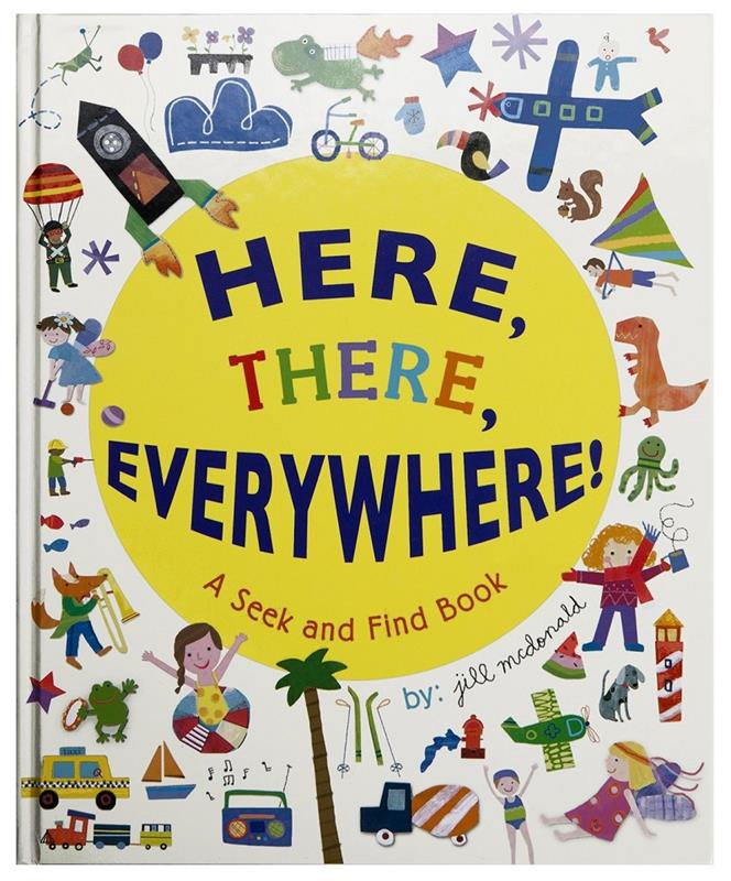 Here There Seek And Find Book,BSFB-14519