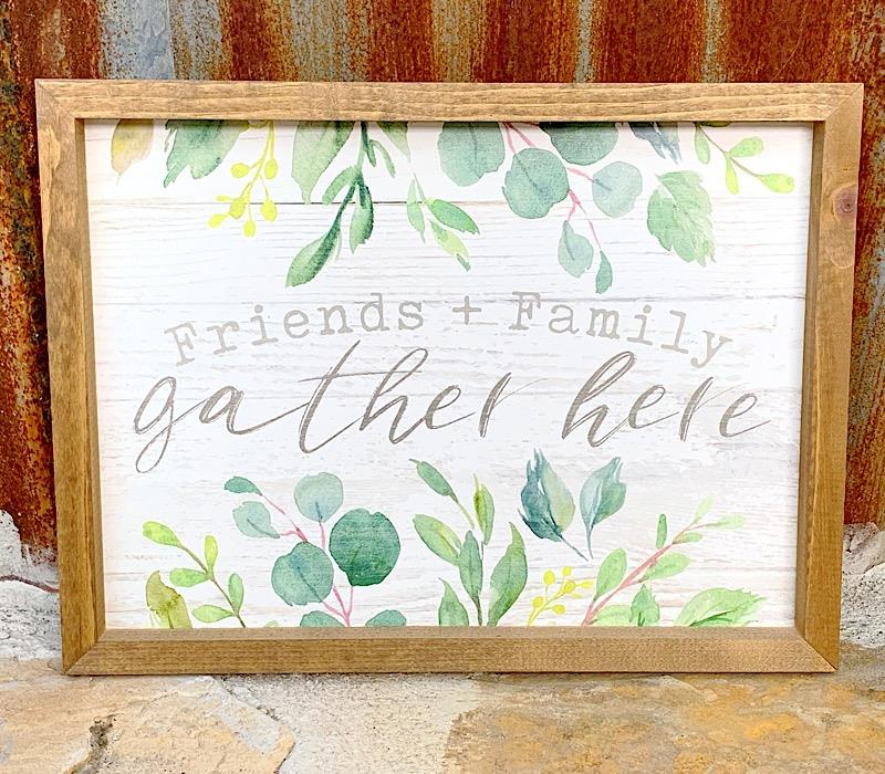 Gather Here Greenery Sign,LFR0023