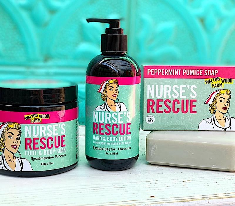 Nurse's Rescue,NURSE-FOOT&BODYSOAK