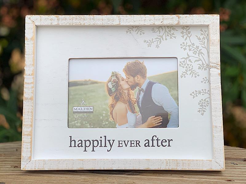 Happily Ever After White Frame,3428-46