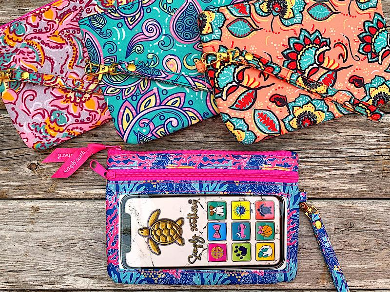 Fashion Prints Phone Wristlet,FASHIONPHWR-CORAL