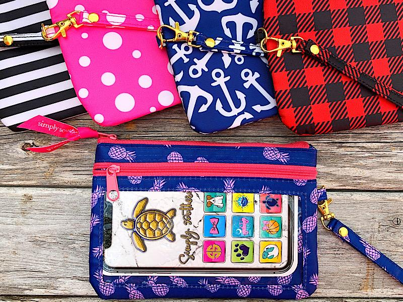 Preppy Prints Phone Wristlet,PREPPYPHWR-STRIPE