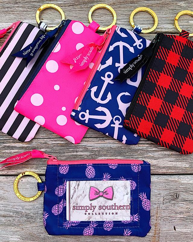 Preppy Prints ID Wallet,PREPPYID-PINEAPPLE