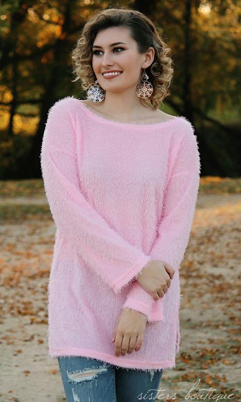 Fur Frenzy Pink Tunic,127953-PINK-S
