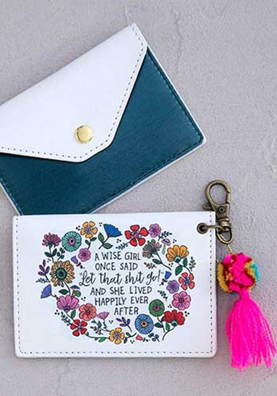 Wise Girl Card Holder,CPRS152