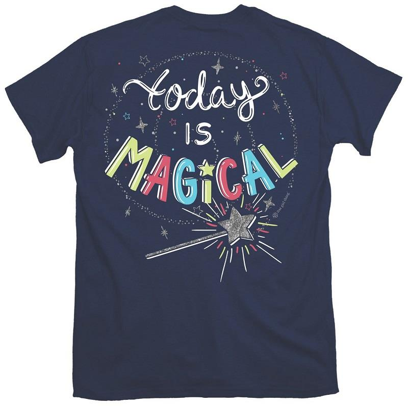 Today Is Magical Tee,IT-15273-XSMALL