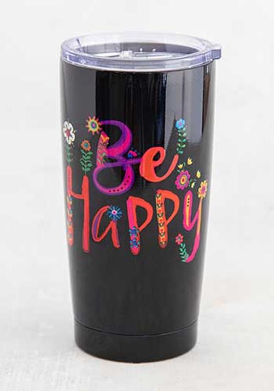 Be Happy Tumbler,WB064
