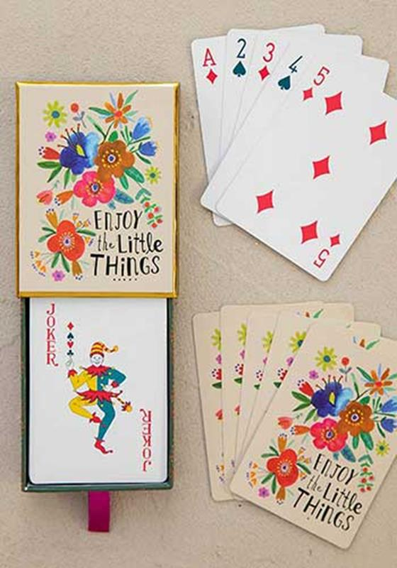 Enjoy The Little Things Playing Cards Set,CARDS002
