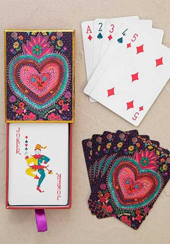 Happy Heart Playing Cards Set,CARDS003