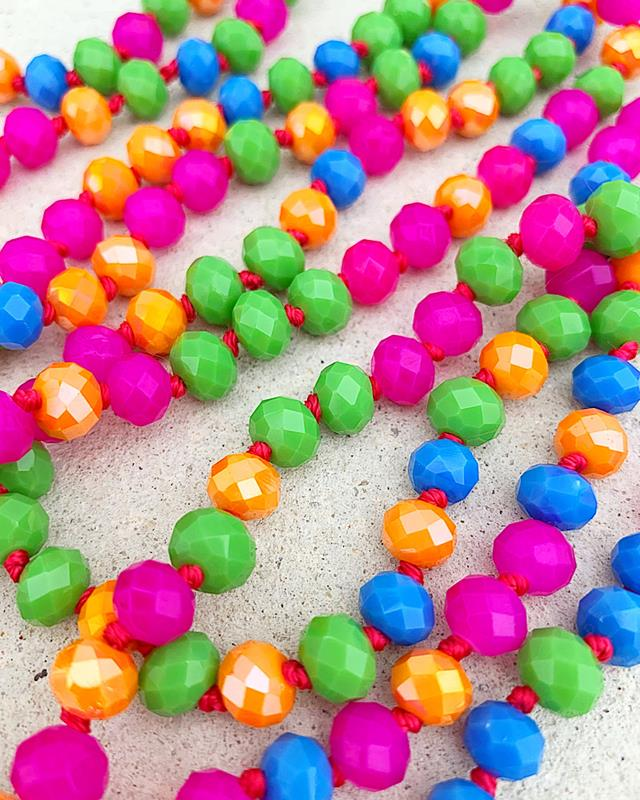 """Party Time Brea 60"""" Beads,BREA-PARTYTIME"""