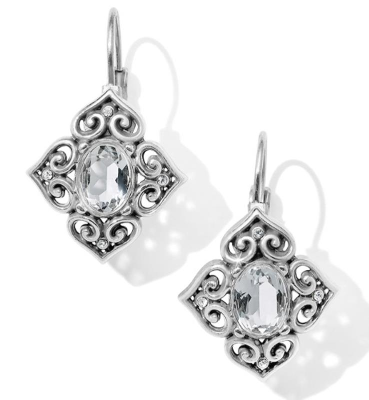 Alcazar Chrystalline Leverback Earrings,JA4201
