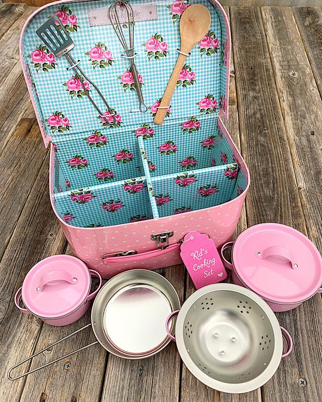 Pink Play Cooking Set,JEUX004
