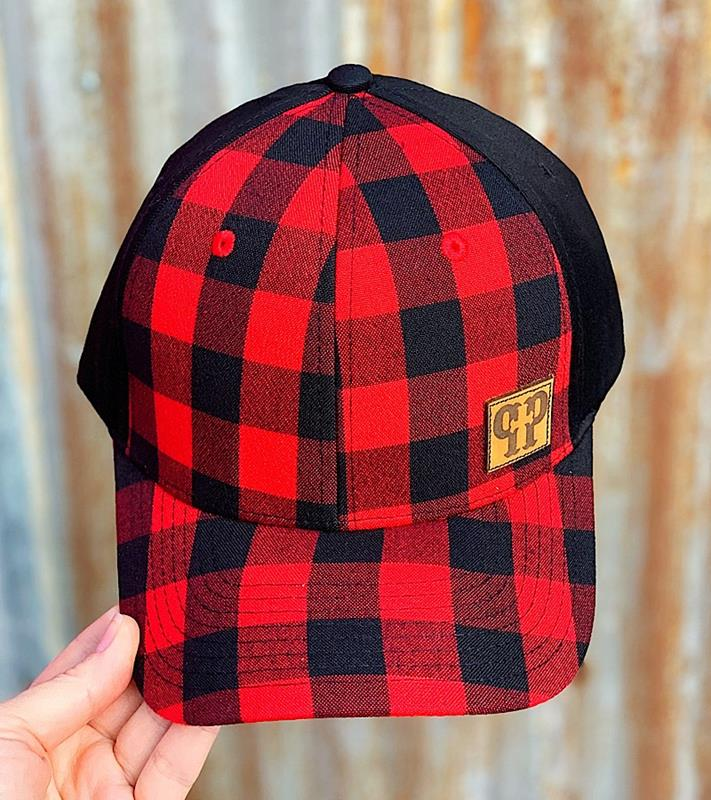 Polly Plaid Cap,235ARJJ7
