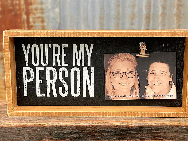 My Person Inset Clip Frame,37586