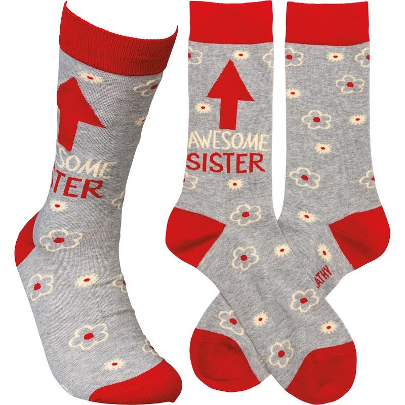 Awesome Sister LOL Socks,105923
