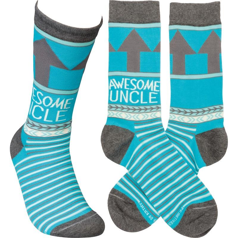 Awesome Uncle LOL Socks,105927