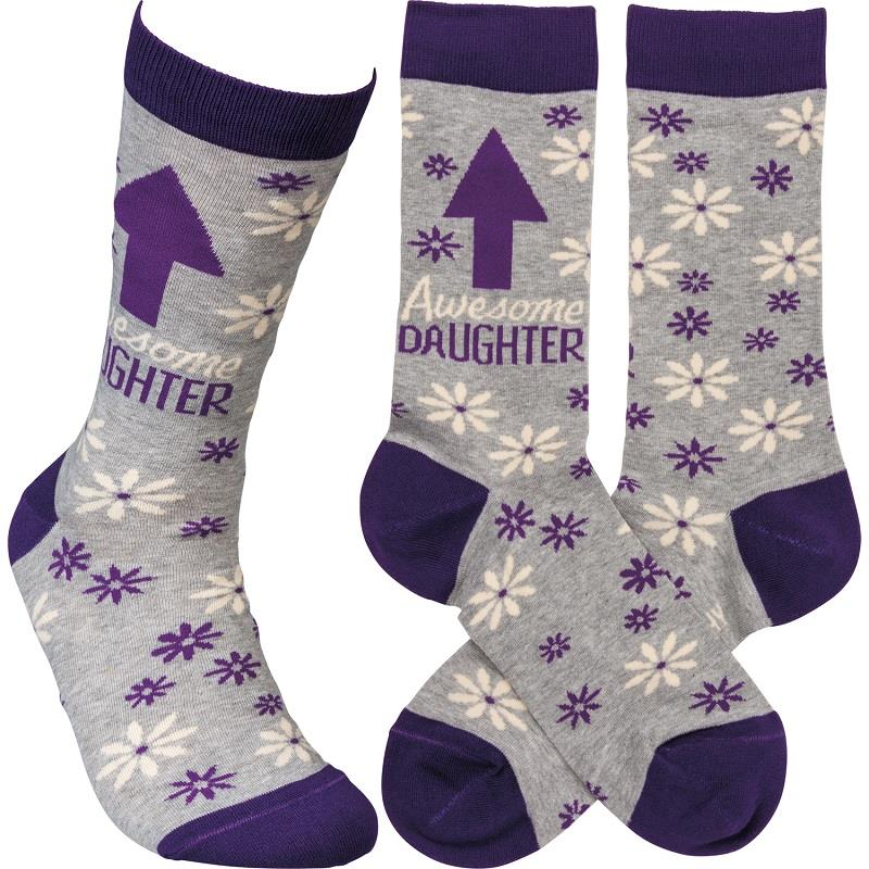 Awesome Daughter LOL Socks,105931