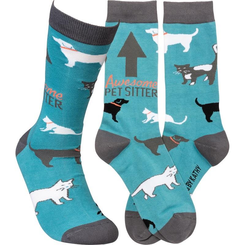 Awesome Pet Sitter LOL Socks,105935