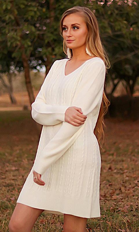 Isabel Sweater Dress,96365-SMALL