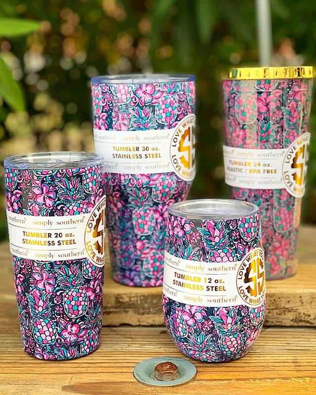 Pineapple Tumbler Collection,PINEAPPLE-12OZ