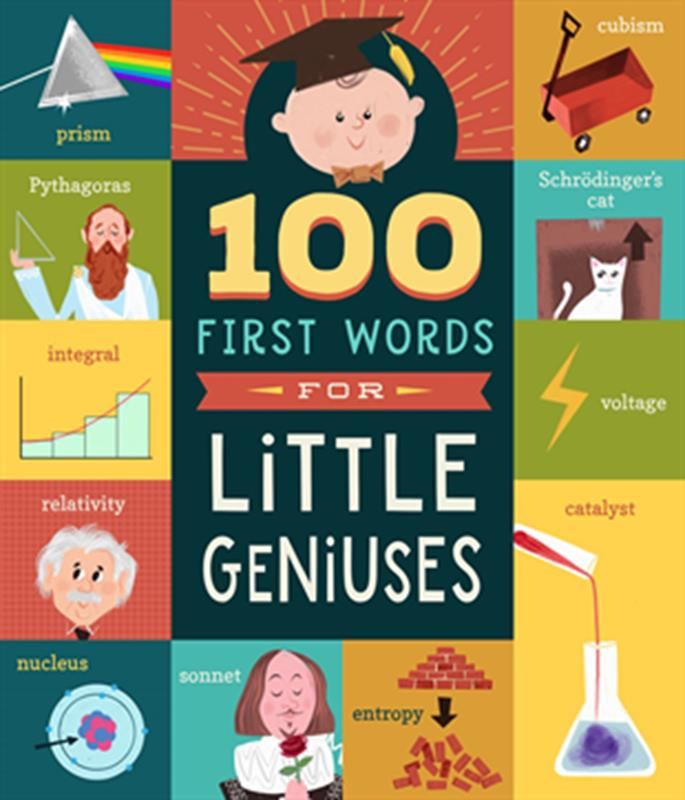 100 First Words For Little Geniuses,50999