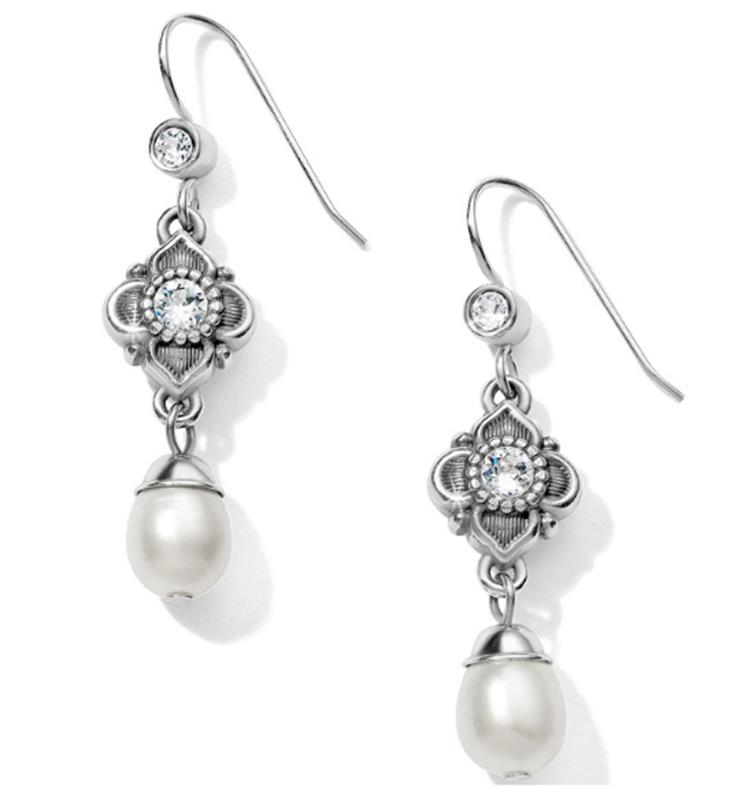 Alcazar Margaret Drop French Wire Earrings,JA5953