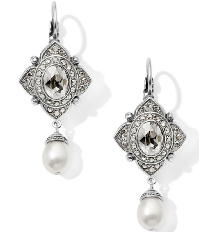 Mumtaz Pearl Leverback Earrings,JA5961