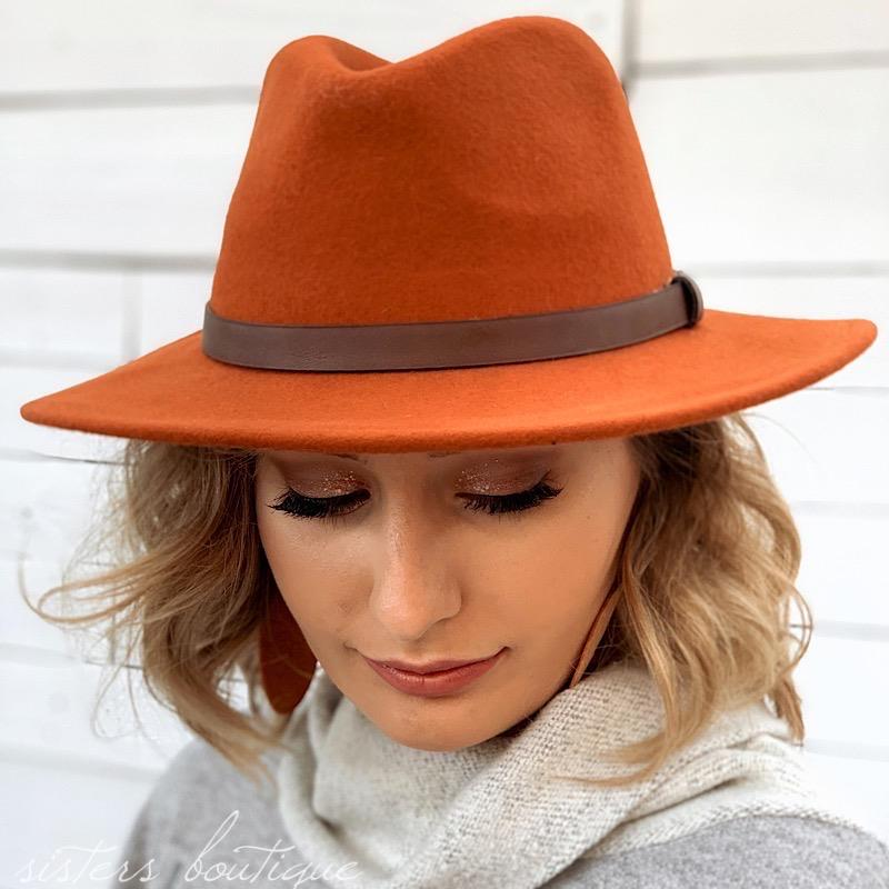Grayson Rust Hat,GRAYSONHAT-RUST