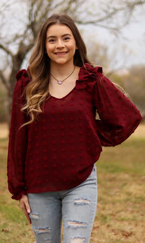 Marlie Blouse,T13249-SMALL