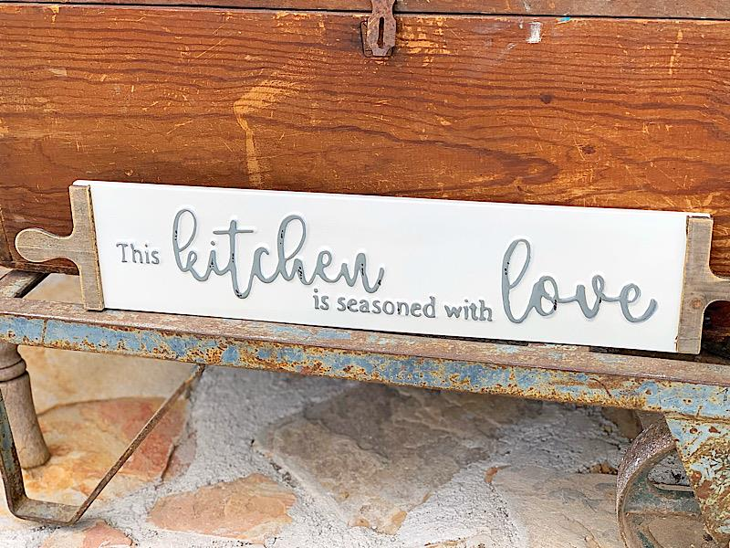This Kitchen Rolling Pin Sign,SB1215