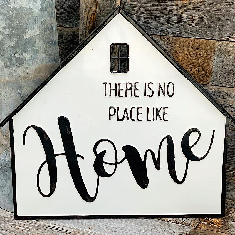 There Is No Place Like Home Enamel Sign,SB1227