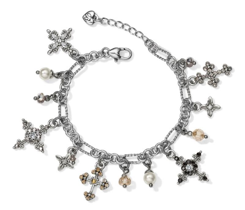 Abbey Cross Bracelet,JF6983