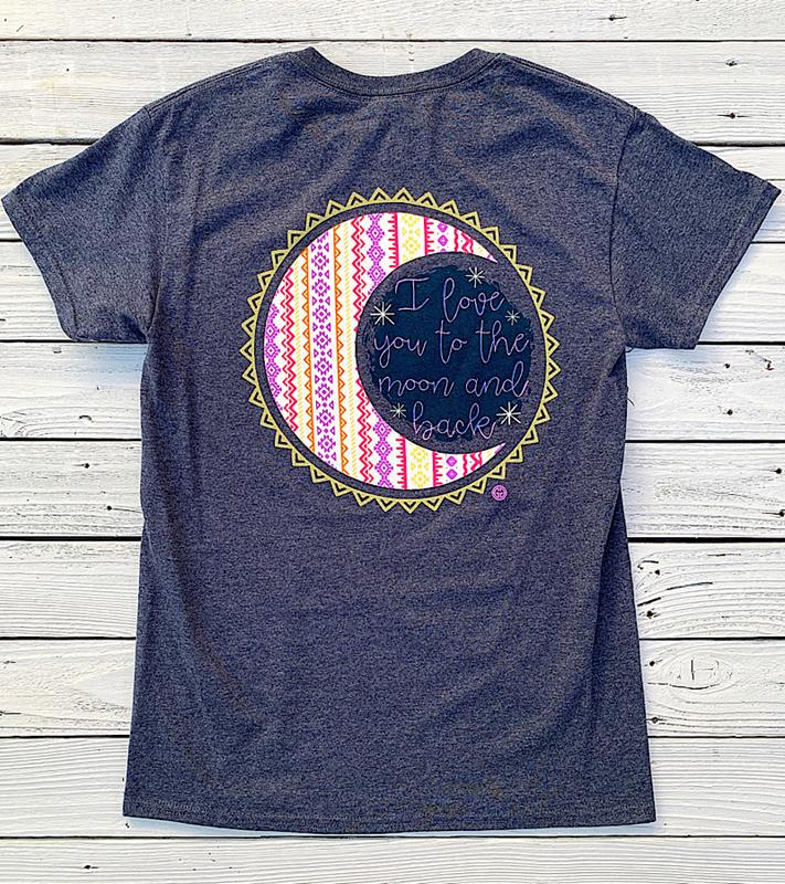 Love You To The Moon T-Shirt,LOVEYOUMOON-SMALL