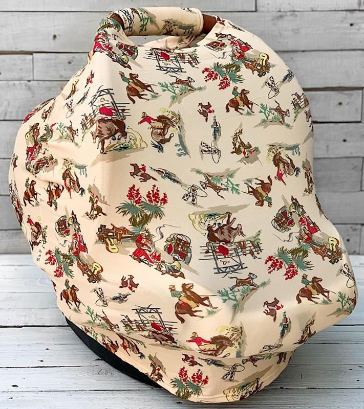 Wild West Carseat Cover,WWCARSEATCOVER