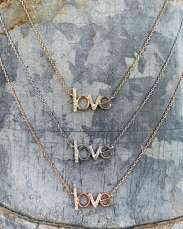 Sweet Love Necklaces,SWEETLOVE-GOLD