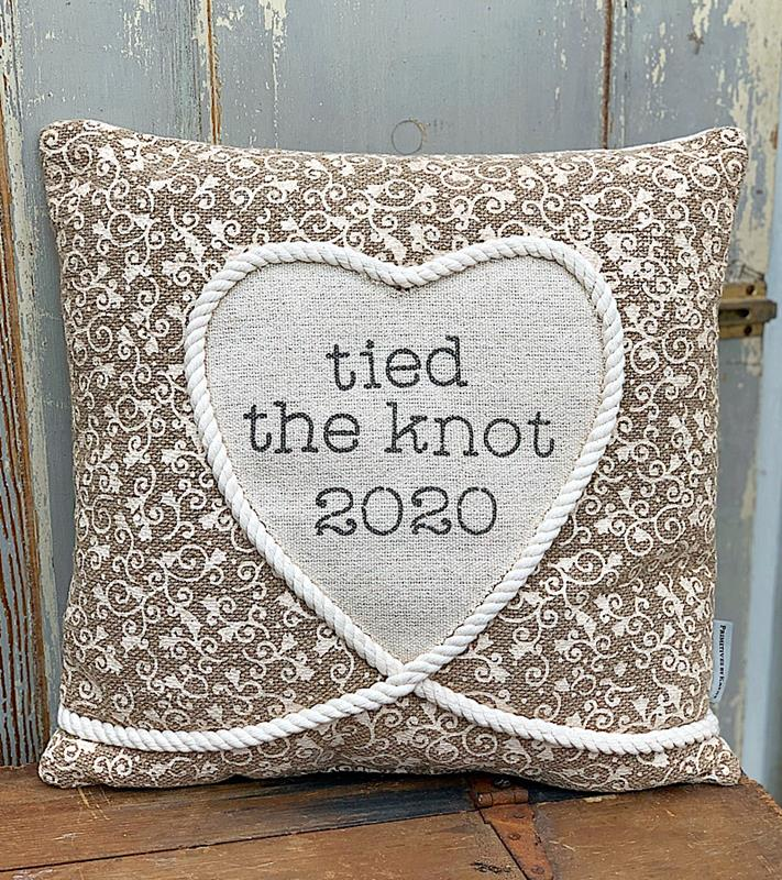 Tied The Knot 2020 Pillow,105914