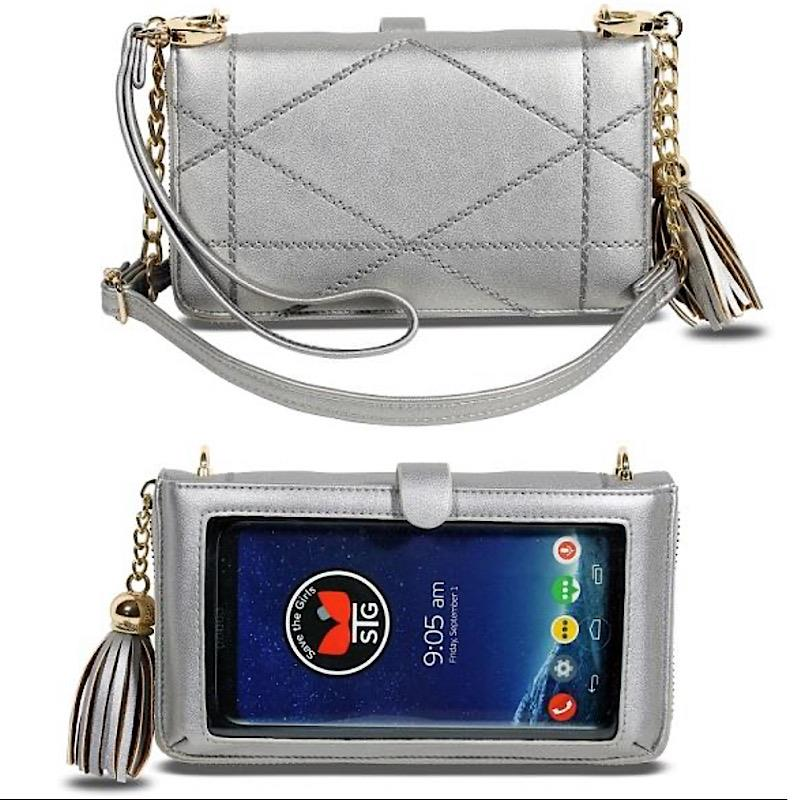 Allure Pewter Crossbody,ALLURE-PEWTER