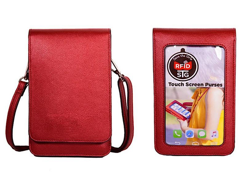 Metro Red Crossbody,METRO-RED