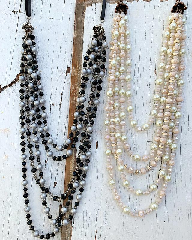 Piper Necklace,PIPERNK-IVORY/BLUSH