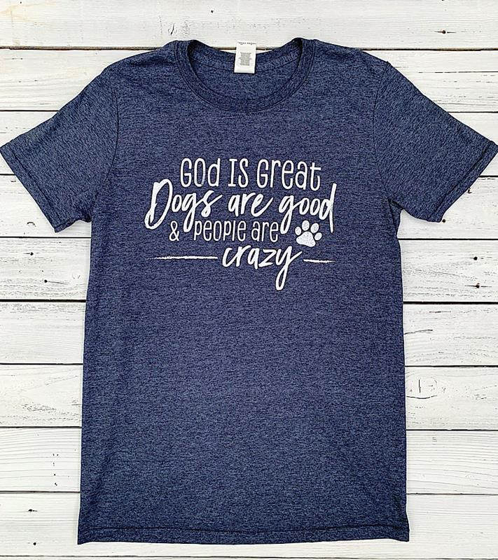 Dogs Are Good Tee,SC416HN-S