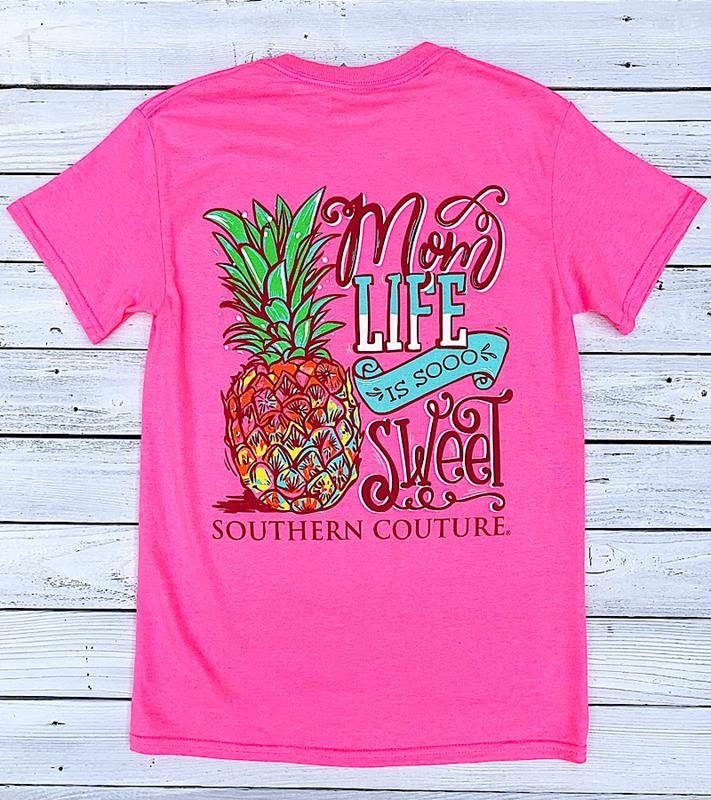 Mom Life Is Sweet Tee,SC629SP-S